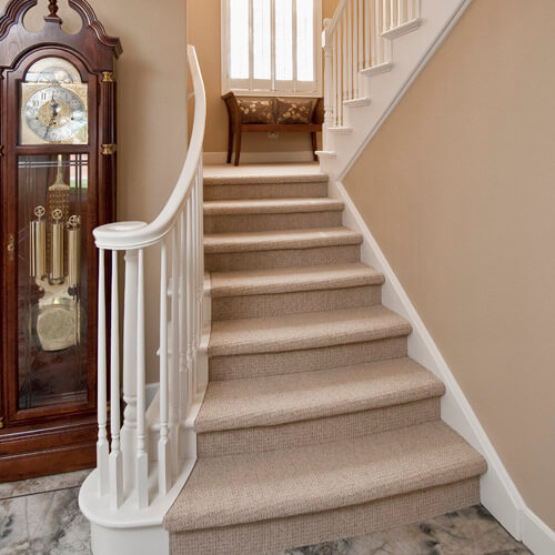 Stairway With Two Floors