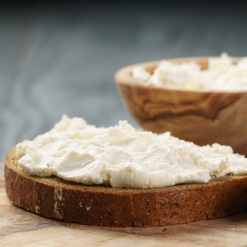 Cream Cheese On Bread