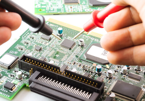 Diagnosing A Circuit Board With A Multimeter
