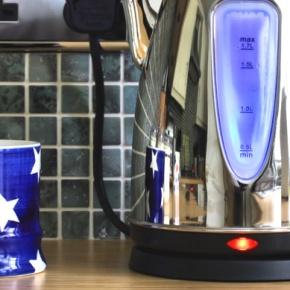Kettle And Mug On Counter
