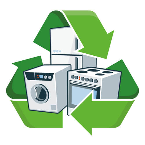 Appliances And Recycling Symbol