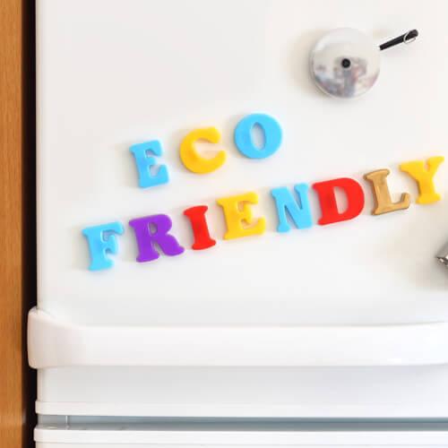 Eco Friendly Magnets On Fridge