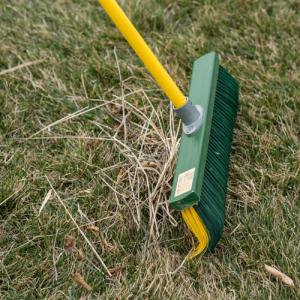 Renegade Broom Sweeping Grass