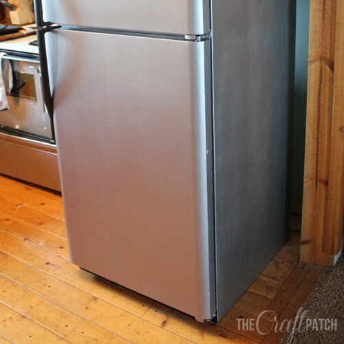 Stainless Steel Painted Fridge