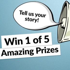 Win 1 of 5 Amazing Prizes
