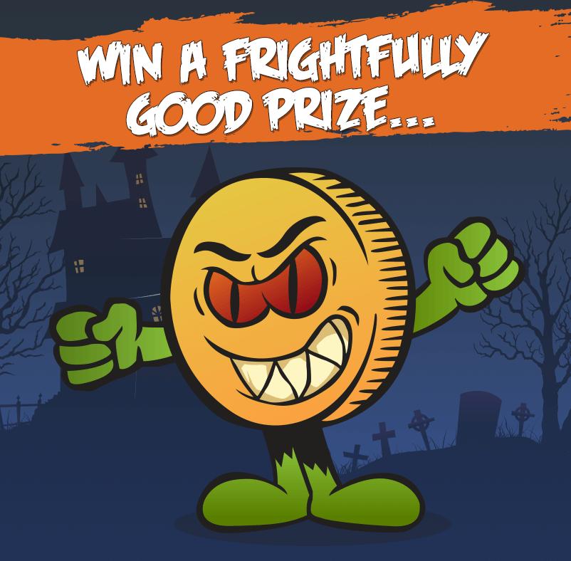 win a frightfully good prize
