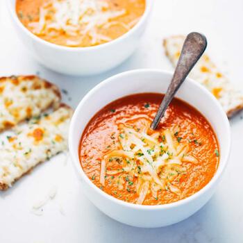 Bacon And Tomato Homemade Soup