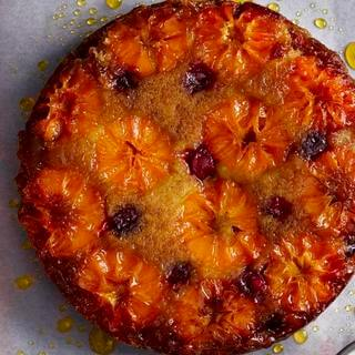Caramelised Clementine Upside Down Cake