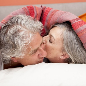 Mature Couple Warm In Bed