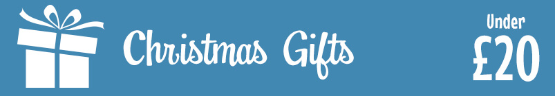 Christmas Gift Ideas Under £20 Banner