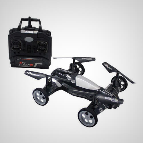 Moon Buggy Quadcopter With Camera
