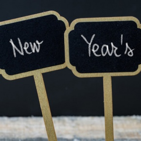 New Year's Resolutions Signs