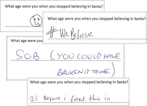 Team Reactions To Santa Revelation