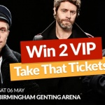 Win 2 VIP Take That Tickets [Competition Closed]