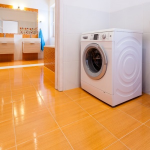 Washing Machine Alone In Room