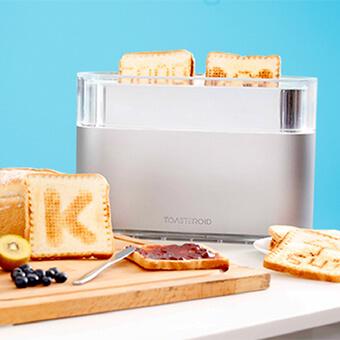Toasteroid Toaster With Toast