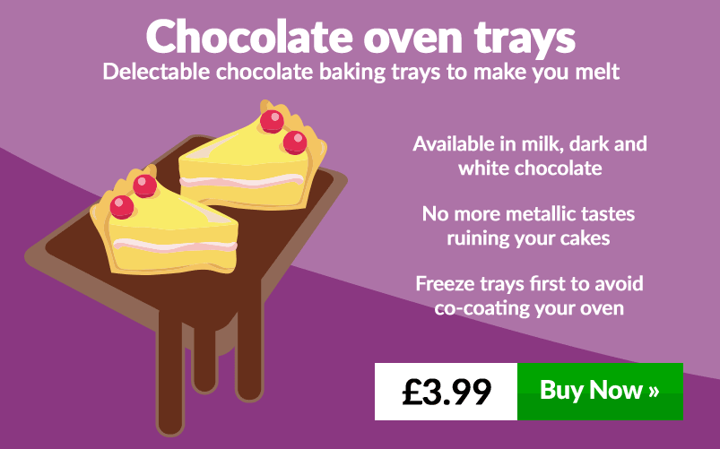 Chocolate oven trays