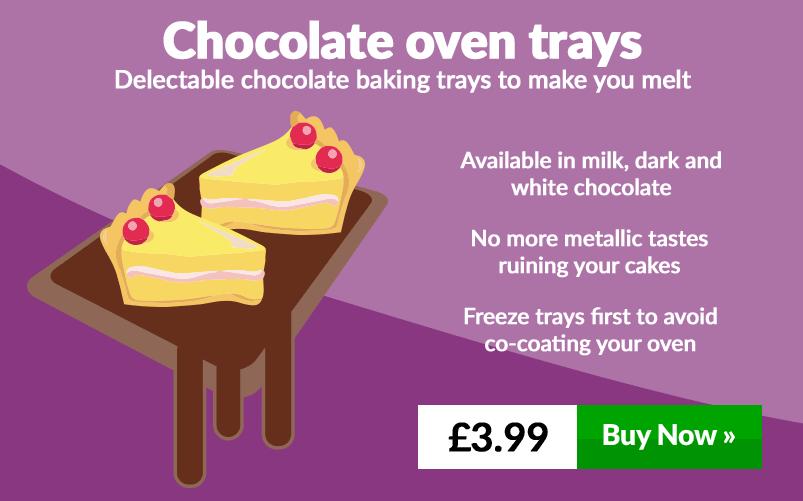 Chocolate oven trays