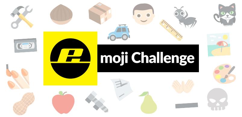 Emoji Challenge Banner With Emojis