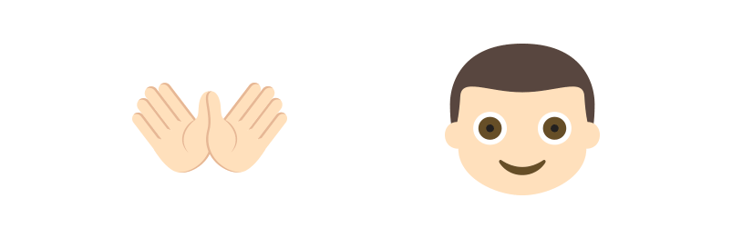Hands And Man Emojis