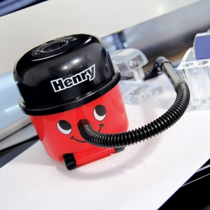 Henry Hoover On Office Desk