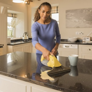 Karcher Window Vac Cleaning Kitchen Surfaces