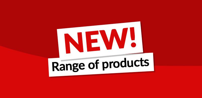 New Product Range Header