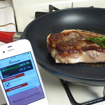 Pantelligent Cooking Seared Steak