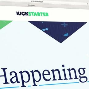 Screenshot Of Kickstarter Website