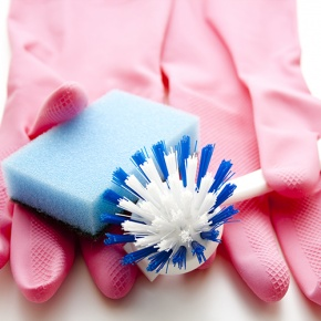 Washing Up Gloves And Supplies