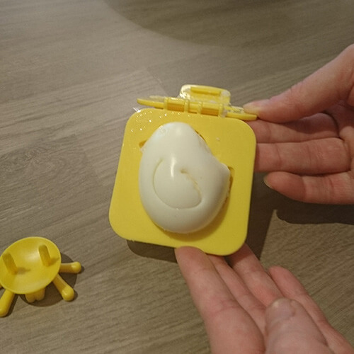 Chick Shaped Egg In Mould