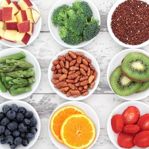 Selection Of Ingredients For NutriBullet Recipes