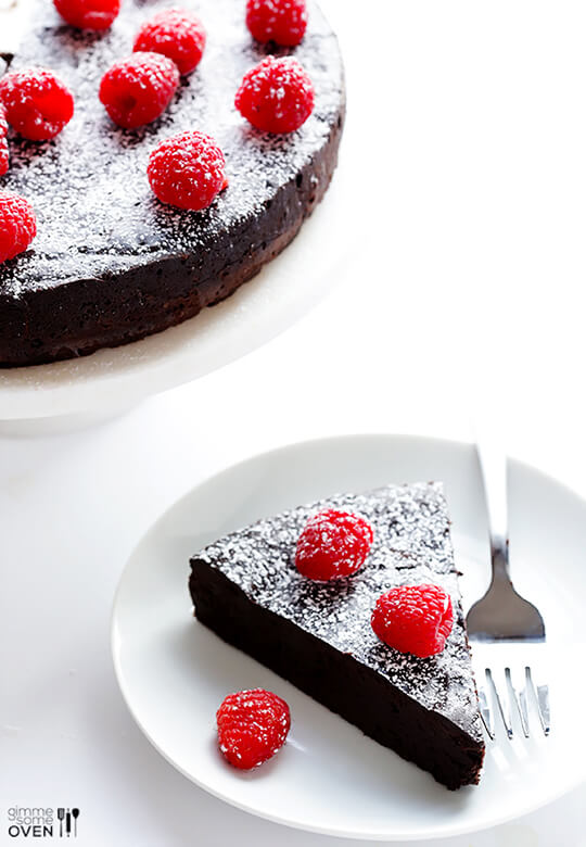 Three Ingredient Chocolate Cake