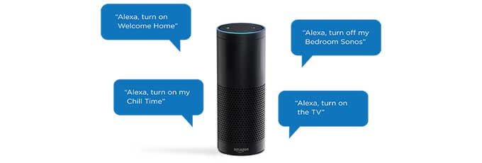 Amazon Echo Alexa Voice Command