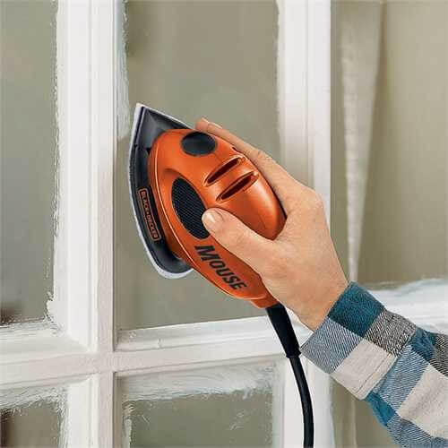 Black And Decker Mouse Sander Cleaning Glass