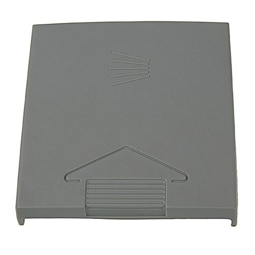 Grey Plastic Dishwasher Dispenser Drawer