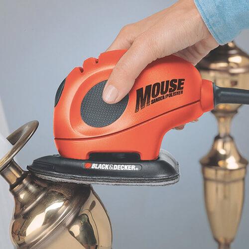 Mouse Sander Polishing Brass