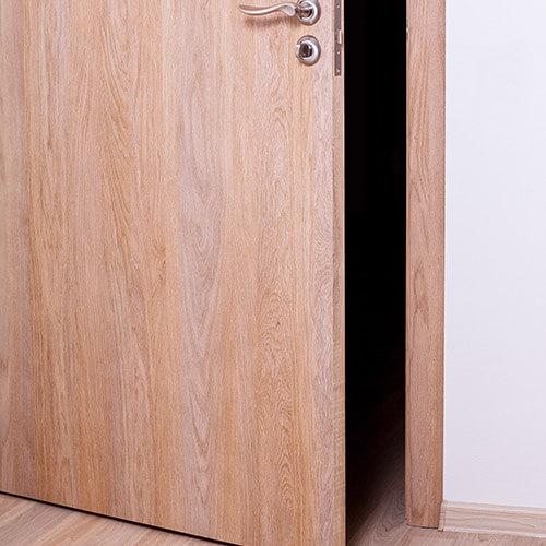Wooden Door Left Ajar