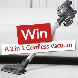 Win a Hoover 2in1 Cordless Vacuum [Terms and Conditions]