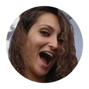 Face Of Mariya On White Background