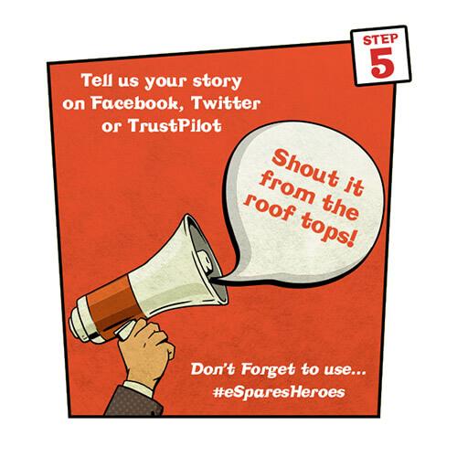 Share Story Step Five