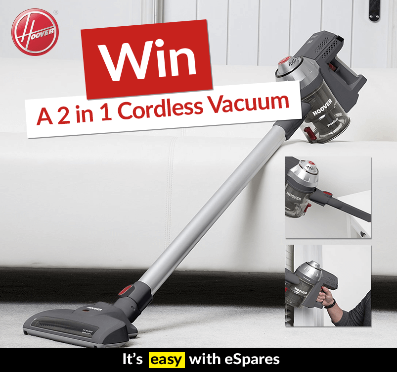 Win a Hoover 2in1 Vacuum