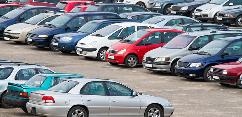 Cars In The Carpark