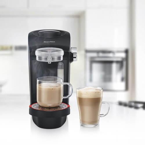 Coffee Machine Making Coffee