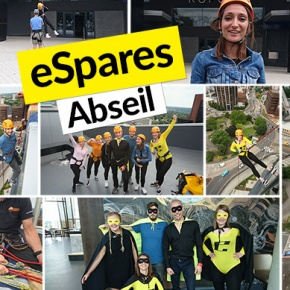 eSpares Abseil Photo collage