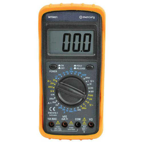 Digital Multimeter With Screen Reading Zero