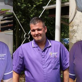 Everyday Heroes Header Featuring Three Nurses