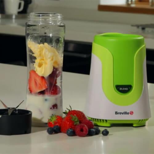 Green Breville Blend Active Blender