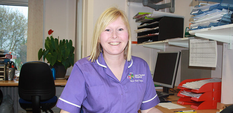 Clinical Nurse Specialist Sandie Robinson
