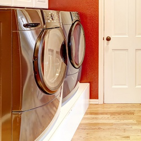 Laundry Appliances In Laundry Room